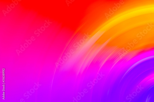 Abstract ripple gradient radial blur background design Fototapet