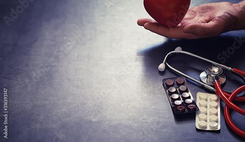Background medical concept Fotobehang