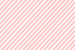 Leinwanddruck Bild - Vector of multi-colored diagonal lines of coral and white.