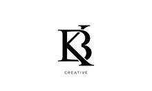 Kb Logo Design Vector Initial ...