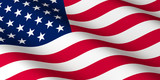 Fototapeta Przestrzenne - flag of United States of America