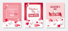 Valentine's Day Sale Posters S...