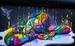 Wynwood Wall Painting -  Miami, Fl.