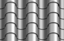 Seamless Texture Of Silver Cor...