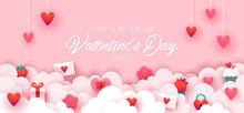 Valentines Day Holiday Banner ...