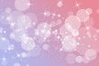canvas print picture - Gradient light purple pink texutred banner, with bokeh and sparkles, can fit with text