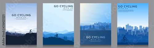 Mountain bike Canvas