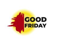 Abstract Good Friday Banner, P...