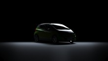 Back Light Electric Car Chevrolet Bolt