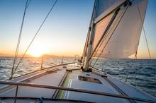 Sailing Yacht Navigationg To T...