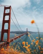 Golden Gate Bridge In San Fran...