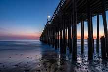 Ventura Pier At Sunset, Ventur...