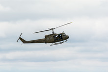 Bell UH-1 Iroquois At An Air S...