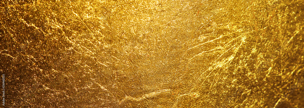 Fototapeta gold texture used as background