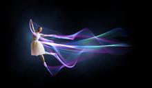 Ballet Dancer In Jump . Mixed ...