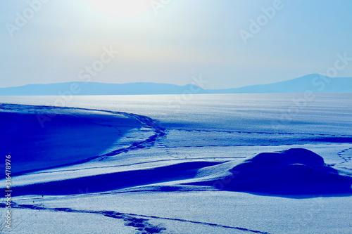 雪原 Tapéta, Fotótapéta