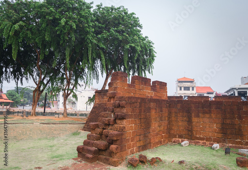 Bastion Middleburg in Malacca, Malaysia #316479916