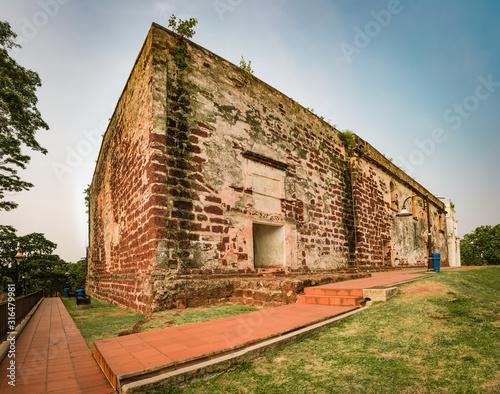 Saint Paul's Church in Malacca City, Malaysia #316479981