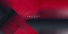 Abstract Background Red Modern...