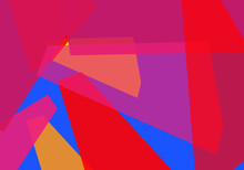 Abstract Of Shapes And Layers,...