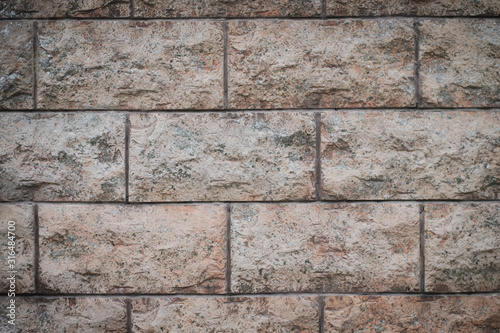 beautiful brick texture shot on the street Canvas Print