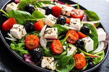 Fresh Greek Salad - Feta Chees...