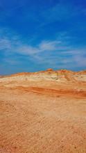 Old Mining Red Surface Land Li...
