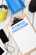 Fitness Program, Smart Phone, Exercise Equipment
