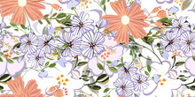 Seamless Pattern In Small And ...