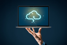 Cloud Computing Backup Concept