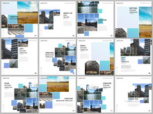 Brochure Layout Of Square Form...