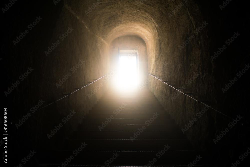 Fototapeta Walking to Divine Light