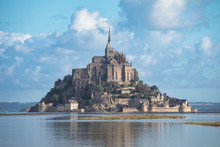 Mont Saint Michel Normandy Fra...