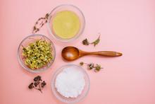 Collagen Powder Or Yellow Clay...