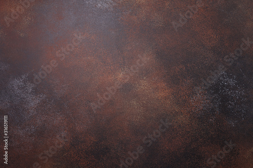 Brown rusty metal texture background