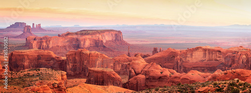 Hunts Mesa Navajo Nation Tribal Park in Arizona Canvas