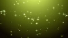 Christmas Green Yellow Starry ...