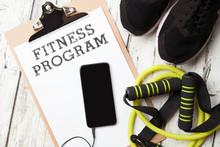 Fitness Program With Smart Phone