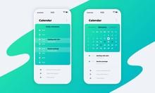Calendar App. Phone Applicatio...