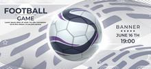 Soccer Poster. Football Game B...