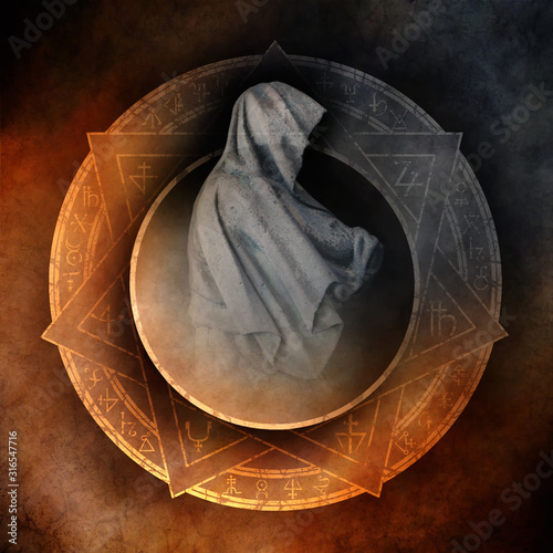 Obraz na plátne Shadow Man