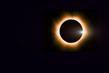 Total Solar Eclipse Cosmic Bac...
