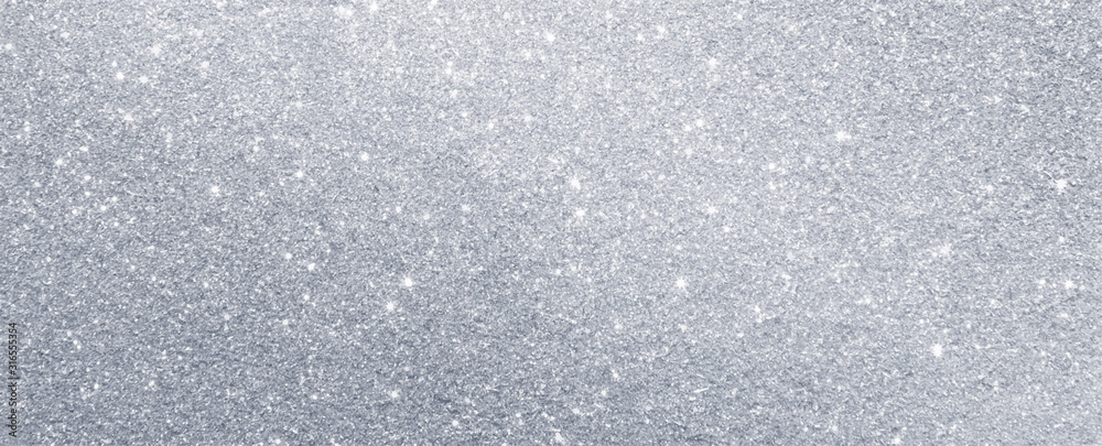 Fototapeta silver glitter sparkle texture background
