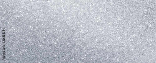 Obraz silver glitter sparkle texture background - fototapety do salonu