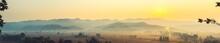 The Beautiful Panorama Landsca...