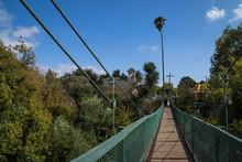 Swinging Bridge In Arroyo Gran...