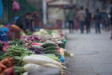 Street Market In Kathmandu Str...