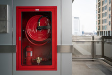 Fire Hose Cabinet At Outdoor S...