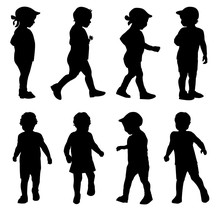 Kids Silhouettes Collection