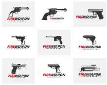 Modern Weapon Collection Vecto...